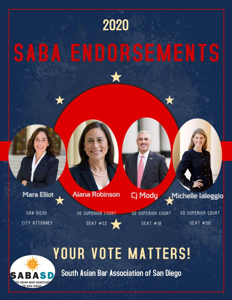 2020 saba endorsements